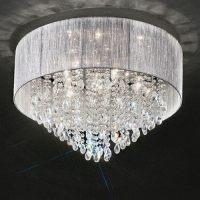 Royale Crystal Flush Ceiling Light Fl2281/7 | The Lighting ...