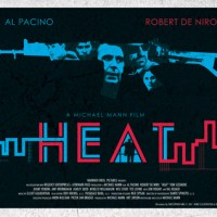 Christopher King - Poster Design for Michael Mann's 'Heat'