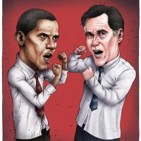 Michael  Greaney - Obama vs Romney