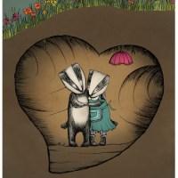 Badger Filled Hearts....