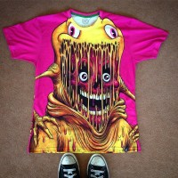 Alex Pardee's insane t-shirt design...