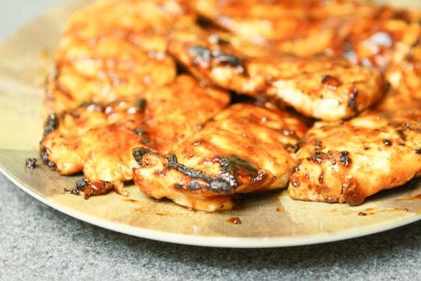 Bbq Chicken Grilled Cheese Sandwiches Recipe | The Little Kitchen