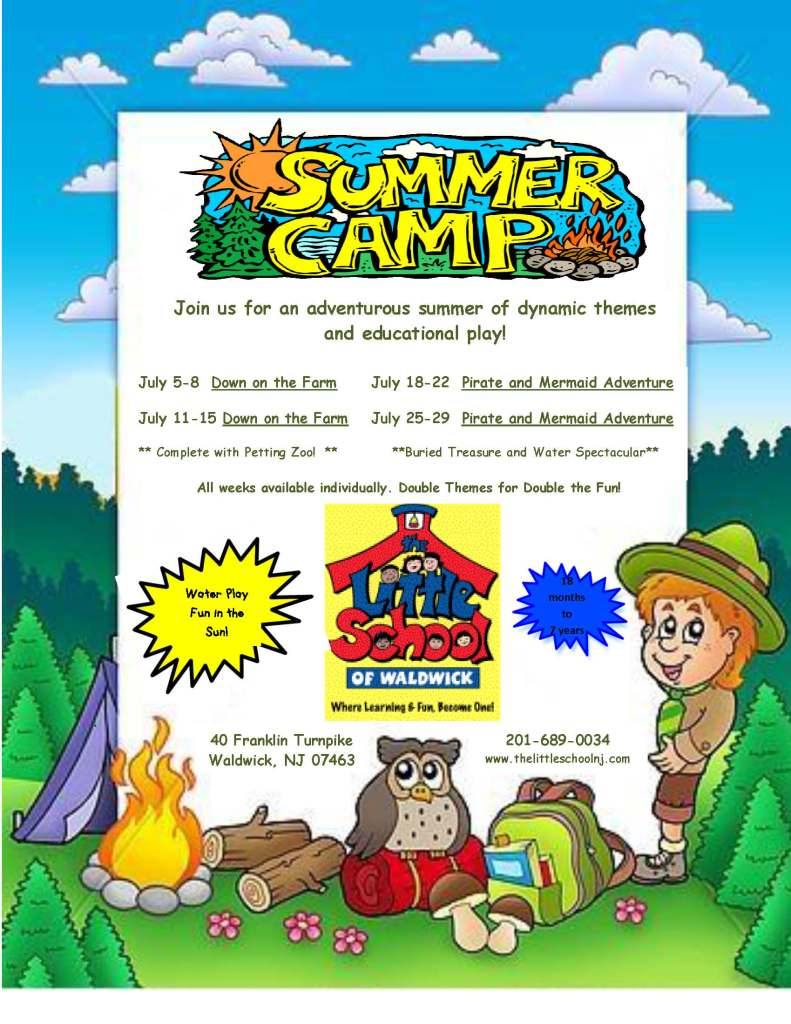 Camp Week Flyer 2016