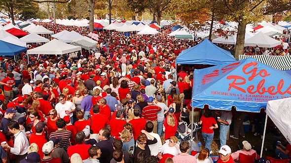 Get Your Grove On, Ole Miss! Ideas For Catering and Tailgating in Oxford, Mississippi