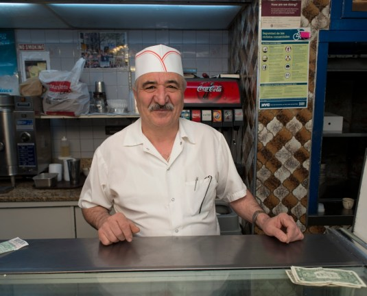 Teddy Vasilopoulos, owner of Everest Diner and Landmark Diner.