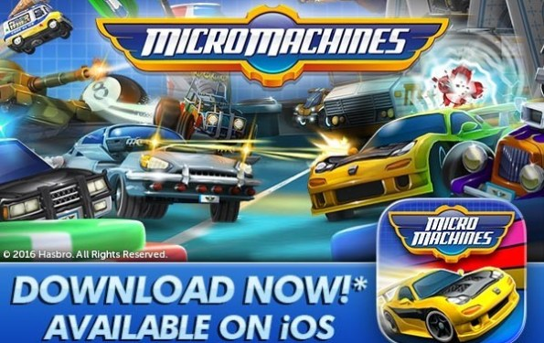 IOS Games: Micro Machines is Back