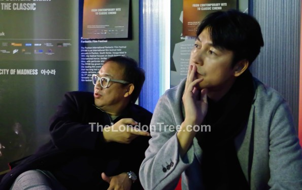 An Interview With Jung Woo Sung And Kim Sung Soo For ASURA THE CITY OF MADNESS 11th London Korean Film Festival 2016