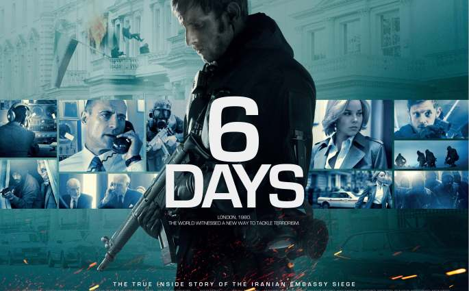 6 DAYS Full Length Trailer And Quad Poster Released