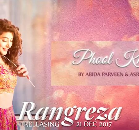 ABIDA PARVEEN Sings Phool Khil Jaayen for RANGREZA