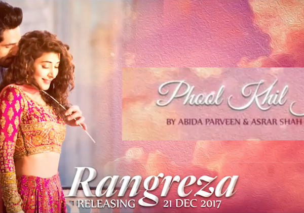 ABIDA PARVEEN Sings Phool Khil Jaayen for RANGREZA