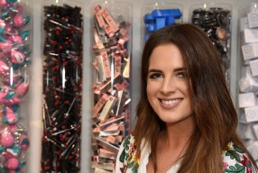 Binky Felstead Attends The Birchbox Pop Up on Carnaby Street London