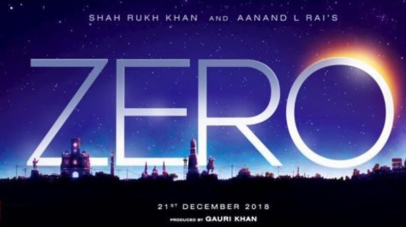 ZERO Shah Rukh Khan and Anand L Rai's Next Title