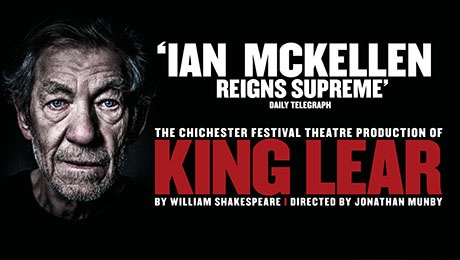 KING LEAR Stars Sir Ian McKellen In The Title Role Playing In London's West End
