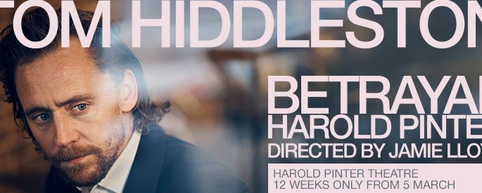 Tom Hiddleston Stars In BETRAYAL A Harold Pinter Play
