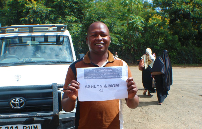 We were picked up right outside the airport in Arusha and every little detail was covered.