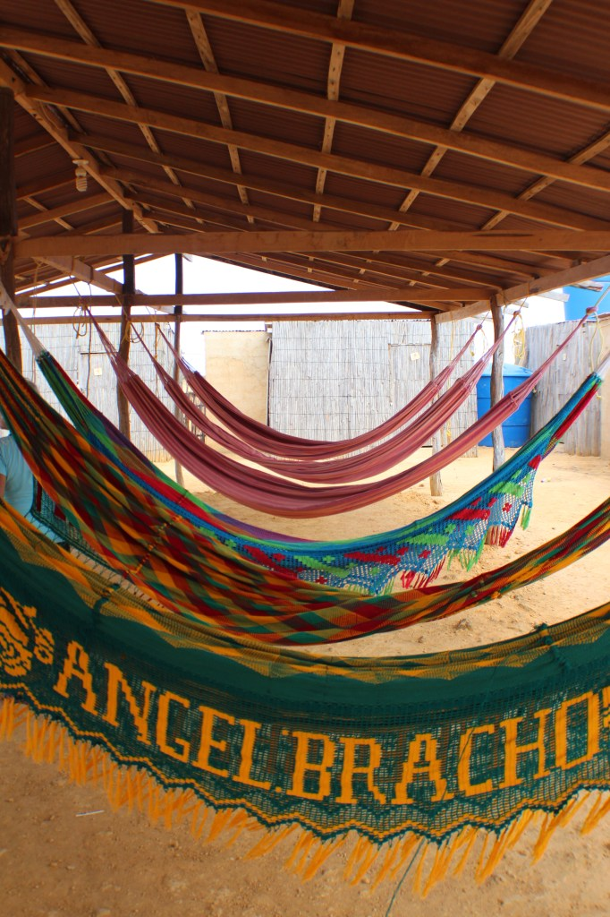 Our accommodation for the night at one Wayuu families home.