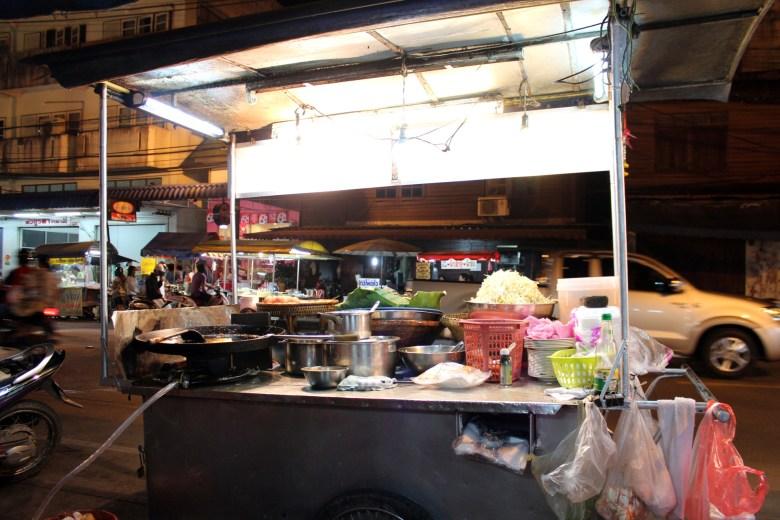 Street Vendor Thailand