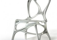 Unique and futuristic Aluminum Chair Design, Shelly by ...