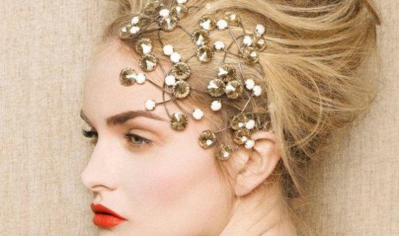 Peinado de lujo para Nochevieja