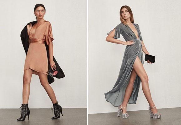 Reformation ruben dress yBordeaux dress