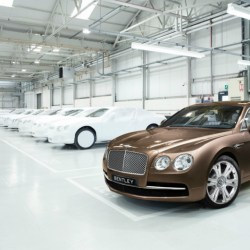 Bentley, récord de ventas en 2016
