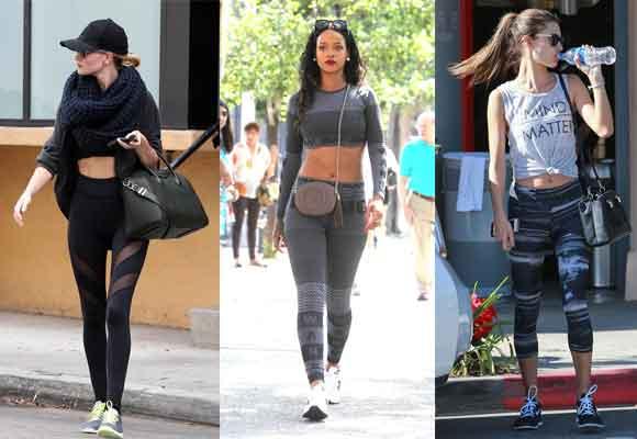 Rihanna o Alessandra Ambrosio se apuntan a la moda del Athleisure