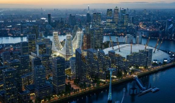 Calatrava marca el Meridiano de Greenwich