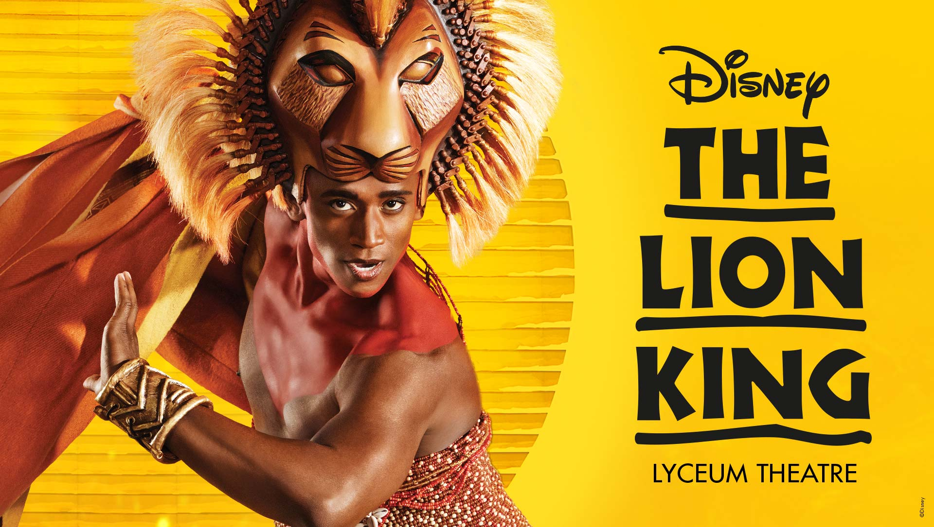 the lion king musical london running time