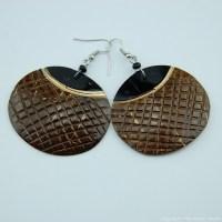 Coconut Shell Earrings 741-2-57