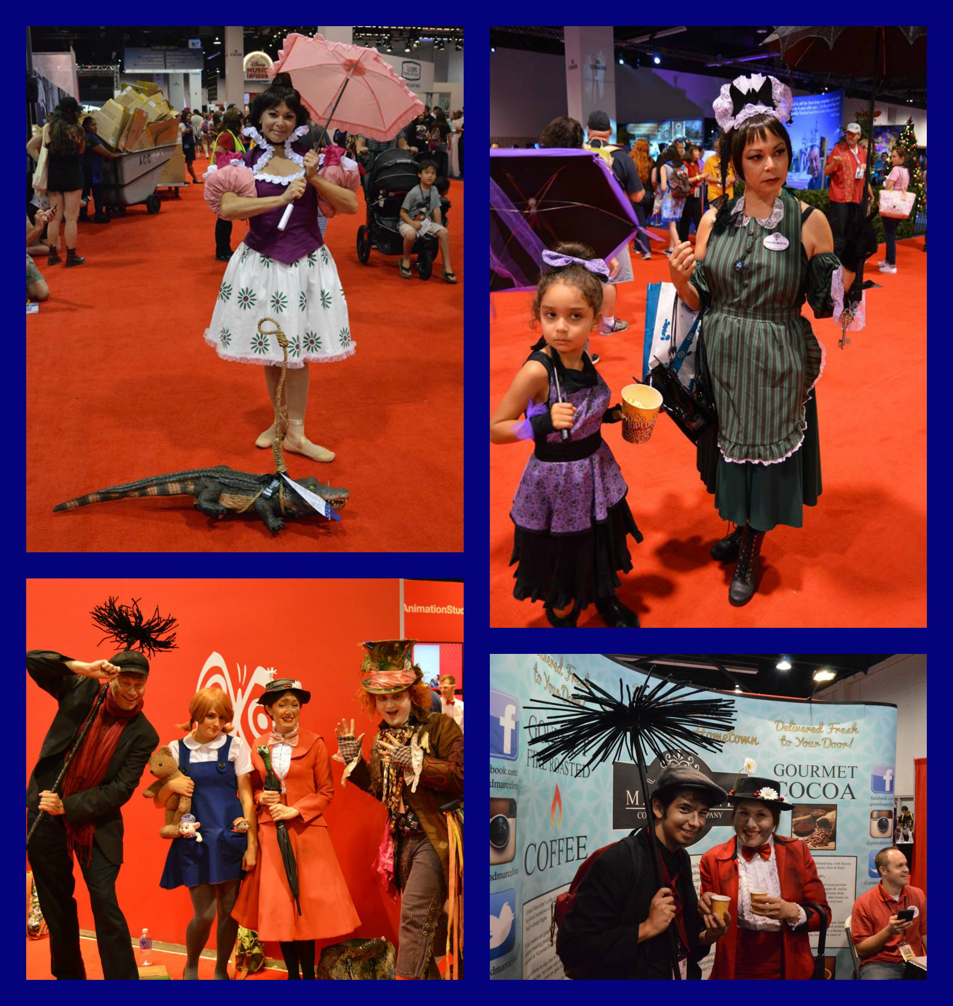 Characters Abound at D23 Expo 2015 - Disney Bounding and ...