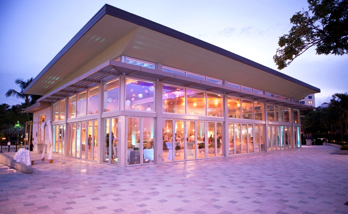 West Palm Beach Lake Pavilion Wedding
