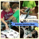 Robots! Join in on April 11 for #STEMchat