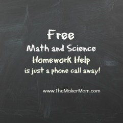 Middle school homework help science