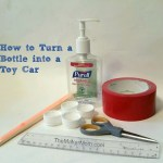 Build a DIY Toy Car with an Empty PURELL Hand Sanitizer Bottle