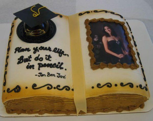 Graduation Book Cake - The Makery Cake Company
