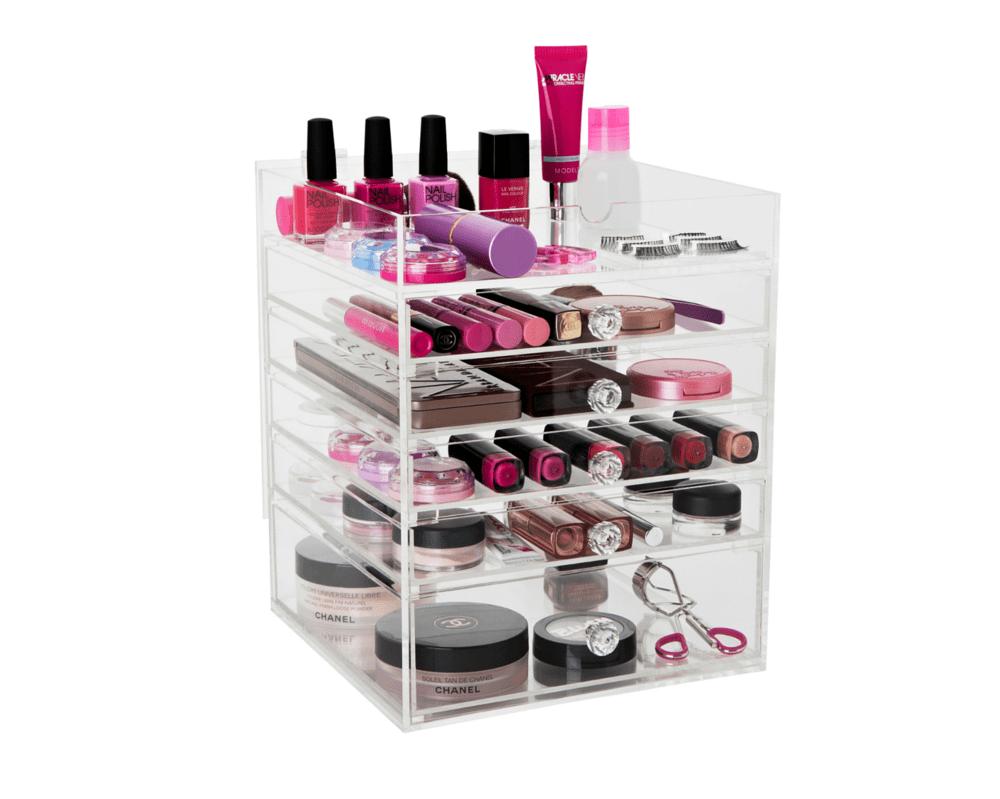 Flip Top Glamour Box The Makeup Box Shop Australia