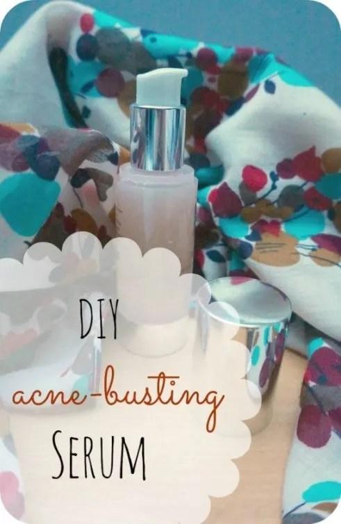 DIY acne-busting serum
