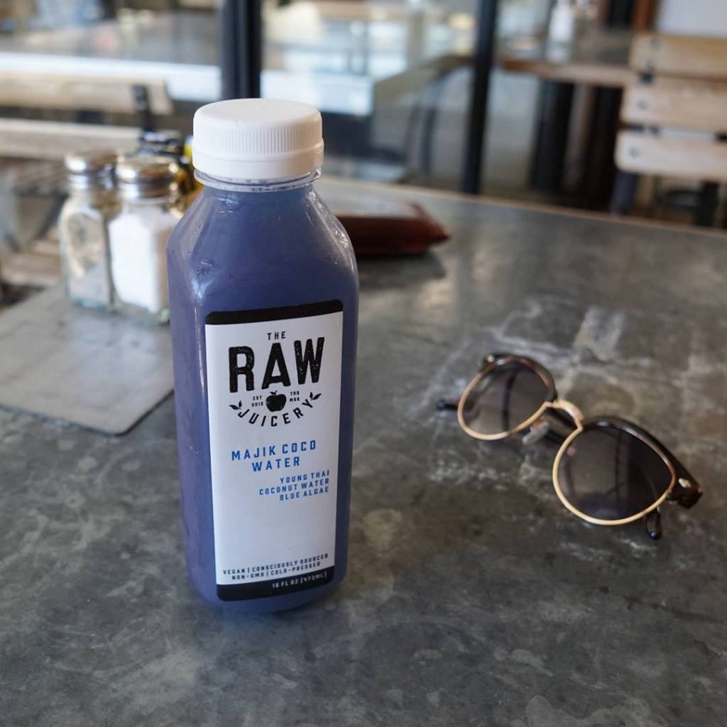 So I drank this blue stuff today  cleancheat downtownlahellip