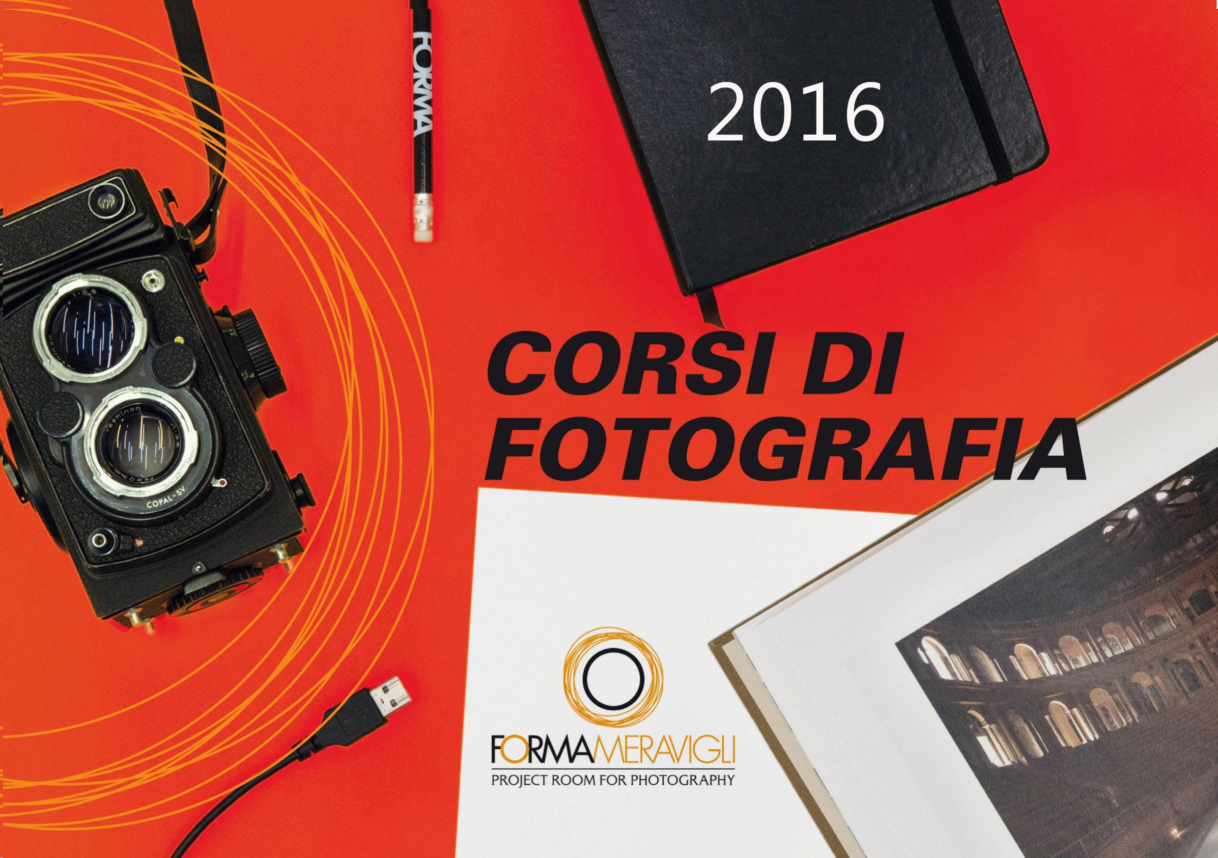 Nuovi corsi di fotografia a Forma Meravigli Milano