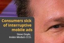 Research : Consumers sick of interruptive mobile ads