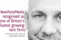 NewVoiceMedia recognised as one of Britain's fastest growing tech firms by the Sunday Times