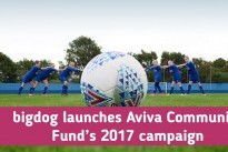 bigdog launches Aviva Community Fund's 2017 campaign