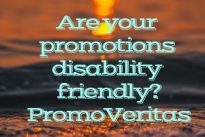 PromoVeritas  … The important issue of disability discrimination and rights,