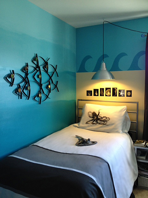 Tween Gets An Ocean Themed Room The Martha Project