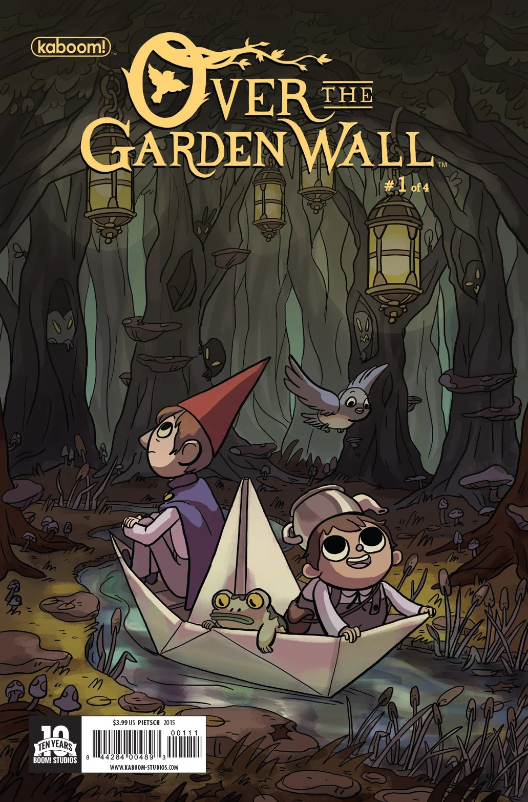 Gravity Falls Cast Wallpaper Over The Garden Wall Preview First Issue The Mary Sue