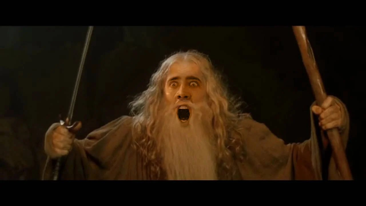 Wallpaper Think Different Quotes 7 Lord Of The Rings Characters Should Ve Been Nicolas Cage