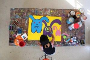 Inocente paints
