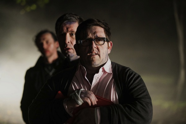Nick Frost in the World's End