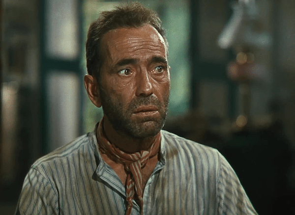 Humphrey Bogart in The African Queen