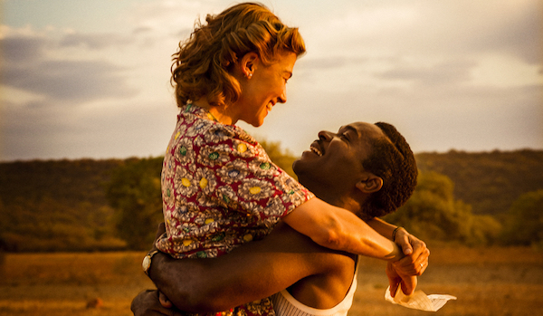 Oyelowo and Pike in A United Kingdom